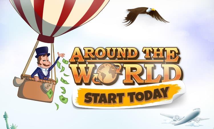 Around the world promotion